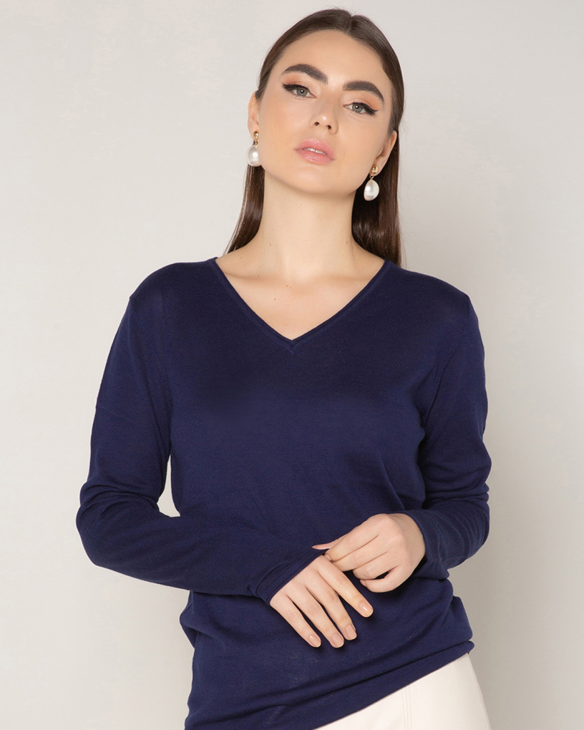 Blusa Trico Maxi Relaxed